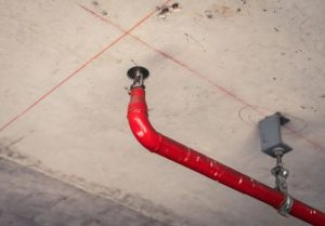 Fire Sprinkler Damage in Tustin CA